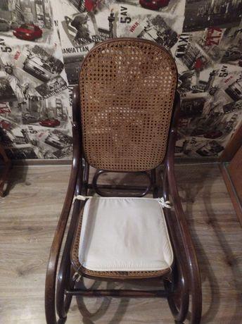 Bujany fotel z PRL