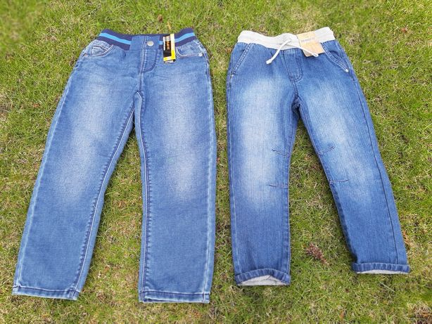 Spodnie firmowe nowe 110/116