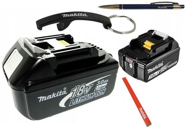 MAKITA akumulator bateria BL1830B z miernikiem 18V 3AH NOWY
