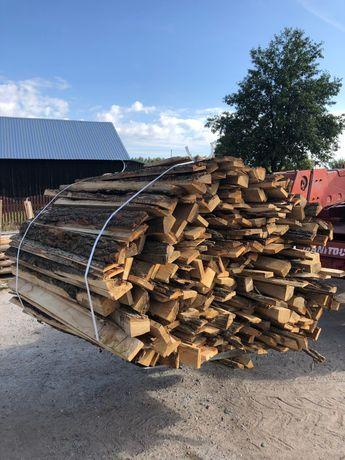 Opał Drewno opałowe dębowe zrzyny dębowe