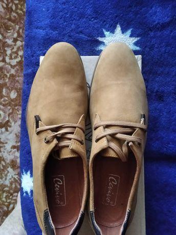 Туфли мужские,новые,натур.замш