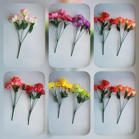 Букет искуственных нарциссов, 35 см. Искуственные цветы