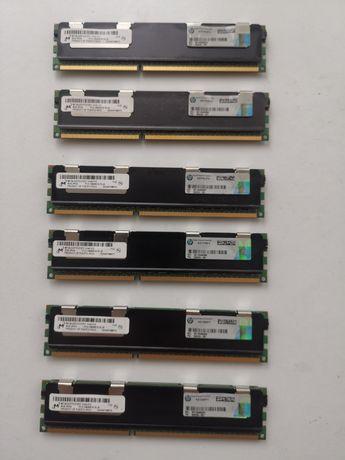 RAM  MICRON 4GB 2Rx4 PC3-10600R-9-10-J0