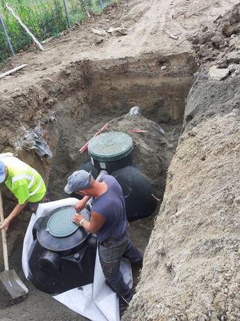 Zbiornik na deszczówkę- Montaż zbiornika, podpięcie- najniższe ceny