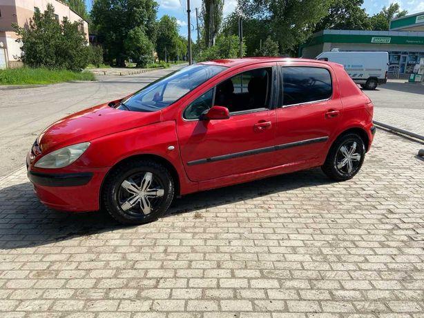 Продам Peugeot 307 растаможенный!! $2500$ 2003год