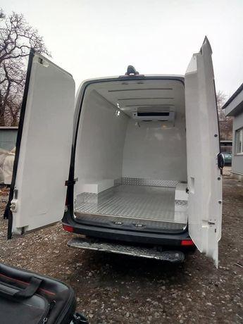 Термоизоляция цельнометаллических фургонов