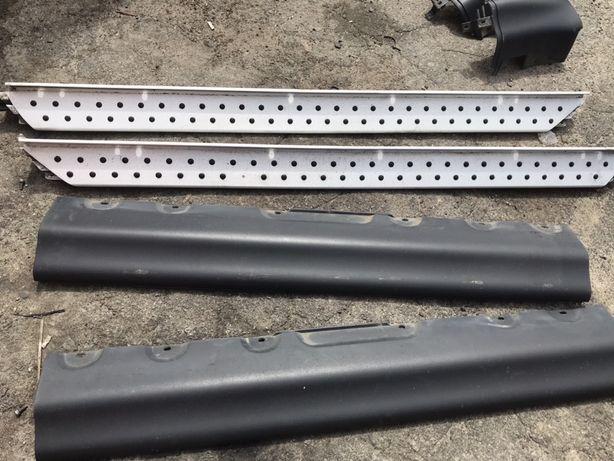 Пороги  алюминий BMW E53 арки БМВ Х5