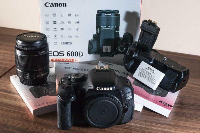 Canon 600d + canon 18-55mm