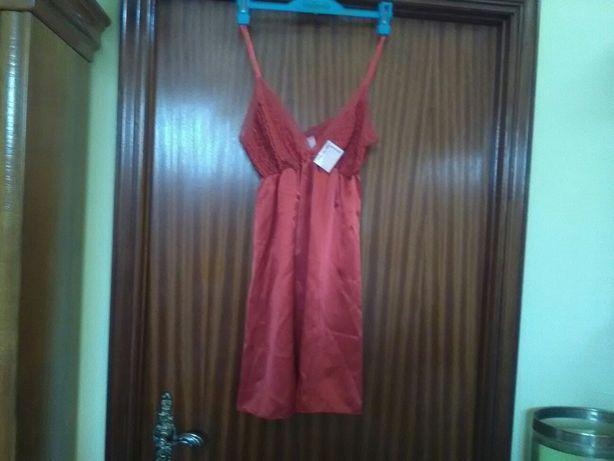 Camisa de dormir mini nova tamanho 46