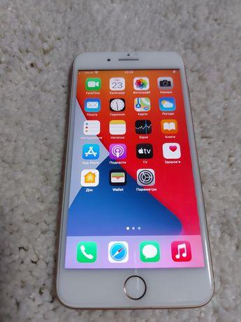 iPhone 8 plus 256 gb roze gold!