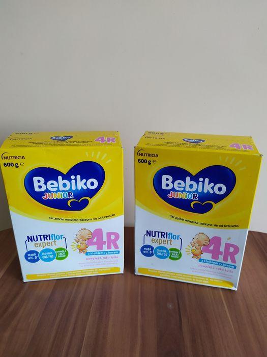 Mleko modyfikowane Bebiko 4R 2x600g + 2 kaszki mleczne Bobovita  NOWE Częstochowa - image 1