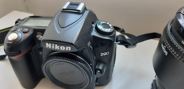 Oportunidade Nikon D90 objetiva sigma 17-50 2.8 HSM  Flash extras