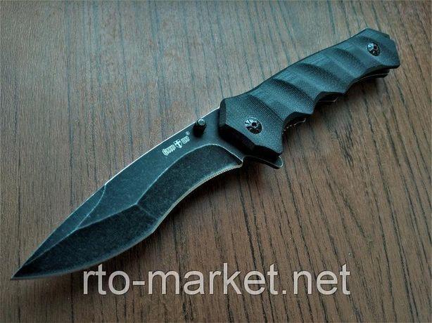 Нож складной, полуавтоматический(выкидной) флиппер
