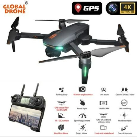 Dron Global drone gd91 pro GPS 4K GIMBAL 2 OSIOWY Dron