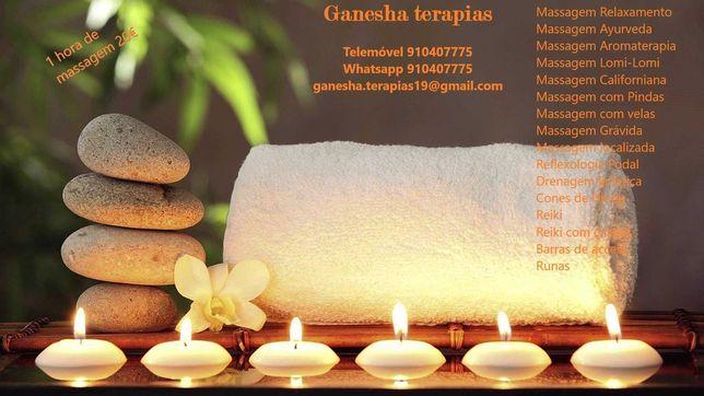 Massagens terapêuticas 1h » 20€