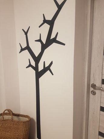 Wieszak ścienny drzewo czarny