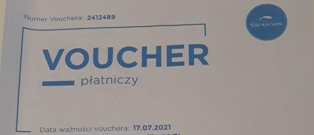 Voucher płatniczy Grecos