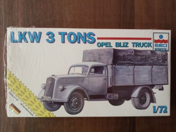 Model do sklejania ESCI LKW 3t Opel Blitz Truck, skala 1:72