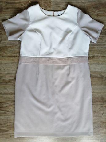 52. Sukienka 6-XL wyszczuplająca dla puszystej. Bardzo duży rozmiar