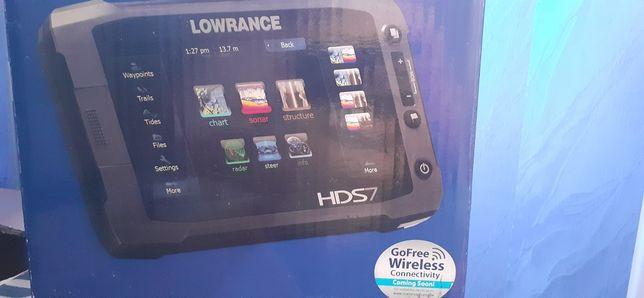 Эхолот lowrance hds7 gen2 touch + 2 датчика сканер дна и рыбок