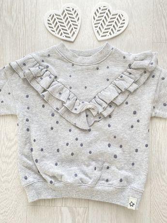 Next bluza z falbanką 92 cm NOWA