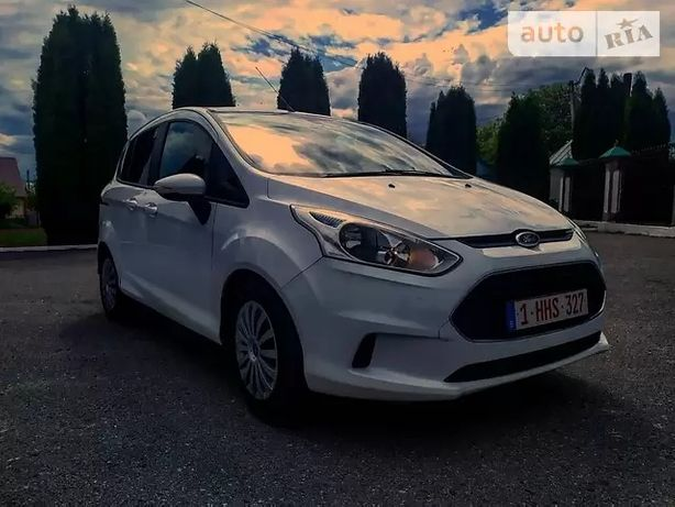 Ford B-Max 2012 EXCLUSIVE