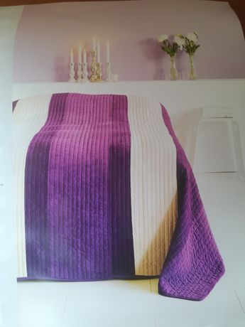 Nowa narzuta na łóżko 220x220