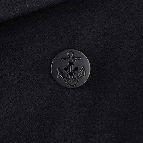 Bosmanka płaszcz marynarski US Navy czarny czarne guziki PEACOAT 5XL