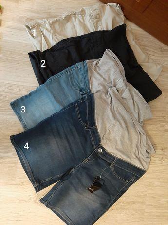 Spodnie ciążowe krótkie I długie