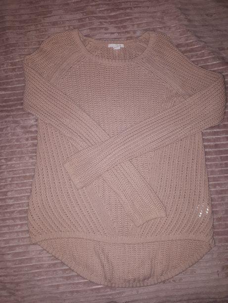 Różowy sweter H&M