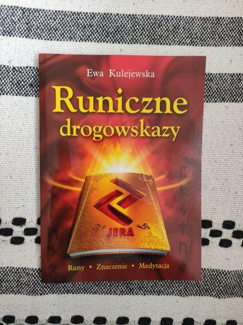 Runiczne drogowskazy, książka Ewa Kulejewska