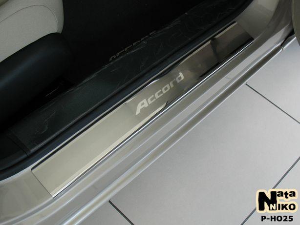 Накладки на пороги Honda Accord 7 8 9 / Civic / CR-V / Jazz / Pilot