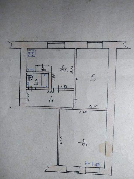 Продам двухкомнатную квартиру на сах. заводе