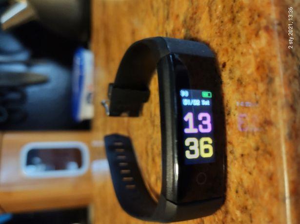 Sprzedam opaske Smartband Yoho + 4 nowe paski