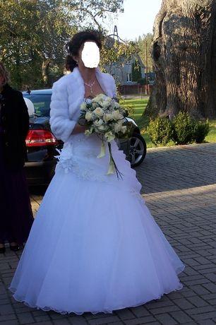 """Suknia ślubna MS Moda """"Julienne"""" - rozm. 38-40"""