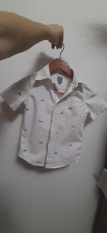 Рубашка с акулами, GAP, размер 5T