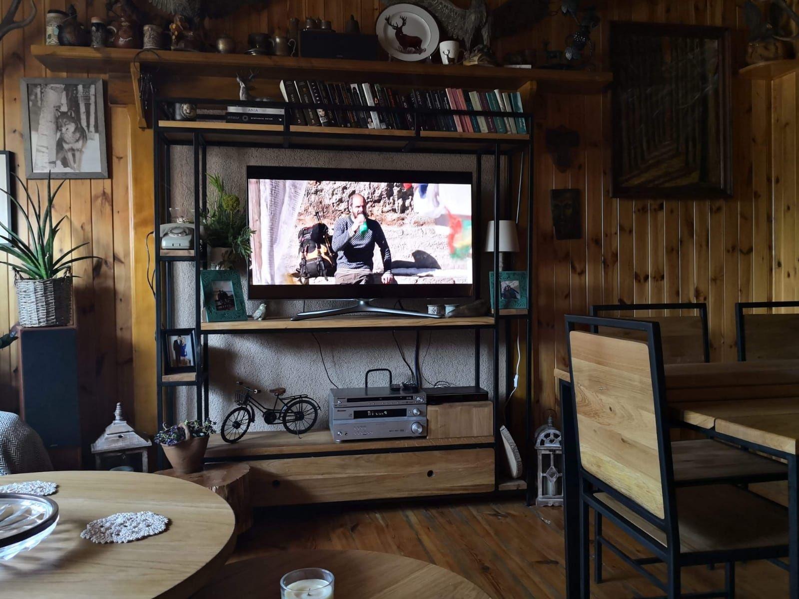 Regał RTV industrialny/loft
