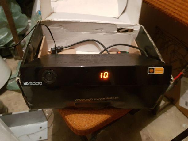 Dekoder Cyfrowy Polsat HD 5000 własność moja nie operatora