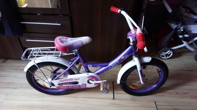 Rowerek dla dziewczynki 16cali