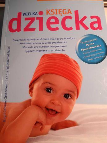 """Książki """"Wielka księga dziecka"""" i """"Dziecko od 1 roku do 3 lat""""."""
