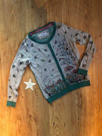 Marks & Spencer sweterek kardigan, haft 36
