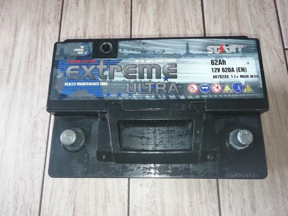 продам аккумулятор 12v 62ah 620А EXTREME болгария Сумы - изображение 1