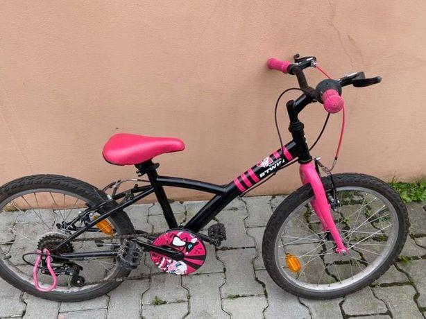 Rower dziecięcy b'twin dla 7-8 latka 20 cali