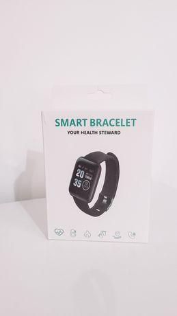 Smart Bracelet - Cor preta