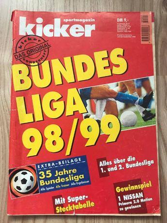 Skarb Kibica Kicker Liga Niemiecka 98/99