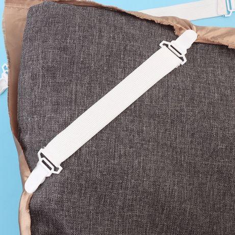 Держатель-зажим, клипсы для одеяла или простыни 4 шт. в комплекте
