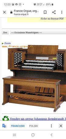 Organy kościelne Johannus Rembrandt 3000 cyfrowe,