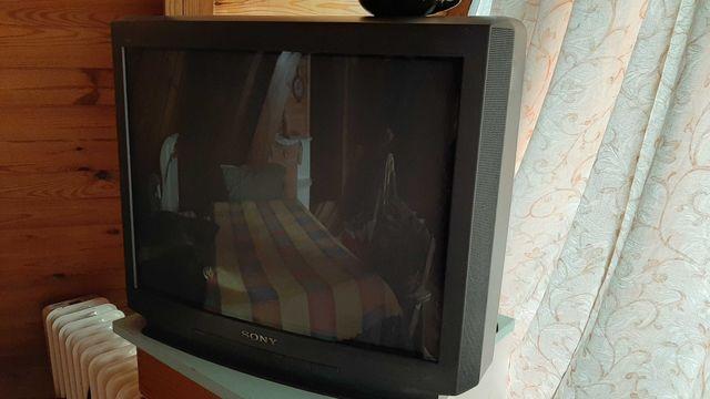 Telewizor Sony, stary, kolorowy, 21 cali, sprawny. Oddam.