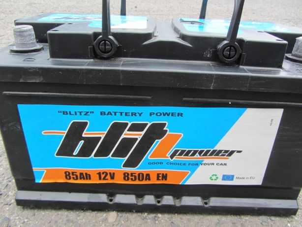 Akumulator blitz power żelowy 85Ah 850A P+ 12V