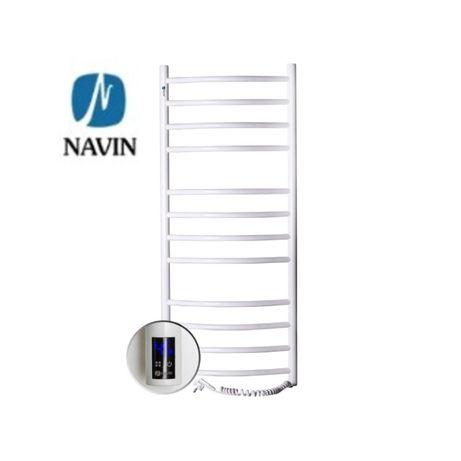 Електрична рушникосушка NAVIN 480х1200 +таймер. Полотенцесушитель